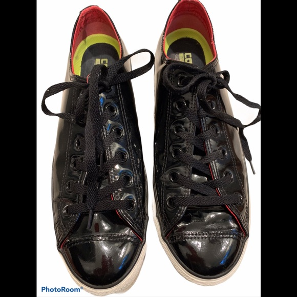 Converse All Star Low Top, Patent Leather.
